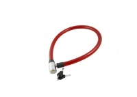 blackspur Heavy Duty Safety Cable Bicycle Lock Red
