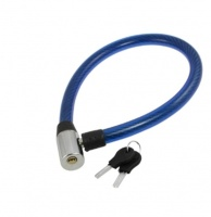 blackspur Heavy Duty Safety Cable Bicycle Lock Blue