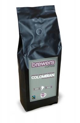 Brewers Coffee Colombian Freshly Roasted Coffee Beans 1kg