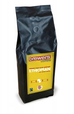 Brewers Coffee Ethiopian Freshly Roasted Coffee Beans 1kg