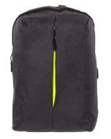 PowerUp Urban Denim Laptop Backpack Charcoal