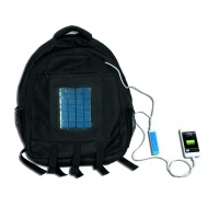 ACDC Solar Carry Bag with Build in Solar Panel and Battery