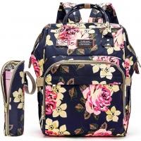 SofyMe SofyMe Waterproof Baby Diaper Nappy Backpack Bag Stroller Straps