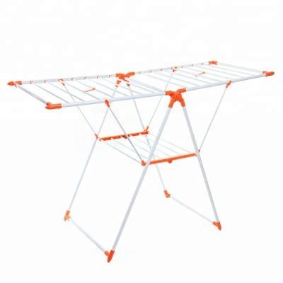 Portable Cloth Dryer Stand Orange