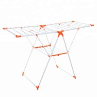 Portable Cloth Dryer Stand Orange