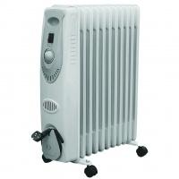 ACDC 11 Fin Oil Radiator Heater
