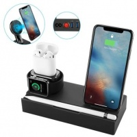 8 in 1 qi wireless charger fast charging phone holder for