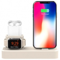 3 in 1 charging dock station phone holder for iphoneapple