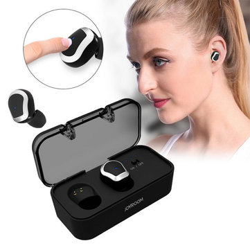 Photo of Joyroom T01 Bluetooth Earphone Stereo Touch Control DSP Noise Cancelling With HD Mic