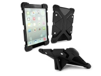 tuff luv universal silicone tablet case and stand a1241
