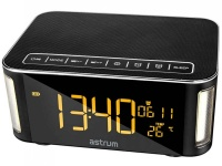 astrum st250 bluetooth speaker with clock a12525 b speaker