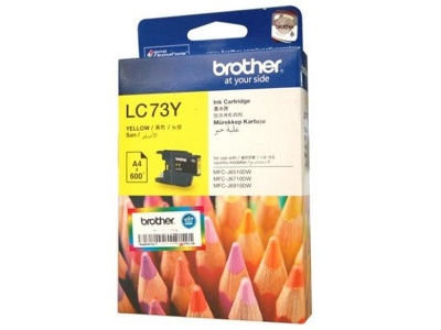 Brother LC 73Y Yellow Ink