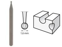 Dremel Ball Point Engraving Cutter 16mm 106