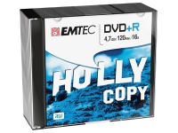 emtec dvdr slim box 16x 4 pack of 10 7gb