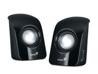 genius sp115 20 compact portable speakers black gen speaker
