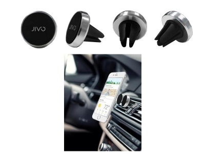 Photo of Jivo AVX4 Magnet Universal Air Vent Car Mount - Silver