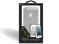 jivo view case for the iphone 55s clear white bumper ji