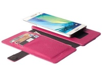Krusell Malmo FlipWallet for the Sony Xperia M4 Pink