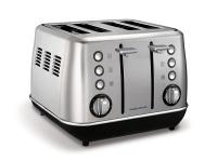 morphy richards toaster 4 slice 1800w toaster