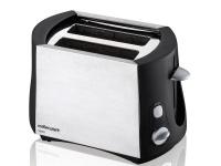 mellerware vesta 2 slice steel toaster 24250a toaster