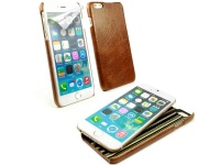 tuff luv alston craig leather cover for iphone 6 plus brown