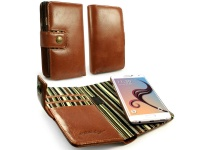 Tuff Luv Tuff Luv Leather Case For Samsung Galaxy S6 Edge Brown
