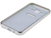 Tuff Luv Tuff Luv Metal Plating Bumper Case Samsung Galaxy J5 Silver