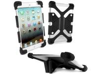 tuff luv rugged universal silicone tablet case and stand