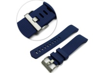 Tuff Luv Silicone Strap and Clasp Fitbit Charge 2 Blue