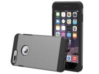 tuff luv twin tpu case for the apple iphone 7 plus grey