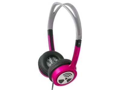 Photo of Zagg iFrogz Toxix On-Ear Headphones - Hot Pink