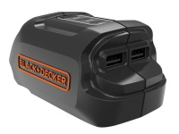 Black and Decker Black Decker 18V Li Ion Platform Usb Charger
