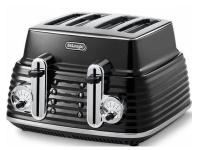delonghi scultura toaster carbon ctz4003bk toaster