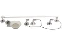 wildberry premium zinc alloy 5 piece bset abs5059 bathroom accessory