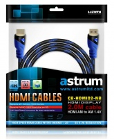 astrum hd102hdmi cable 20m 14v plated 4k supported cables adapter