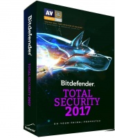 bitdefender total security 2017 5 user 1 year dvd security utility