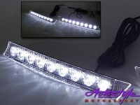 9 led drl ice fog lamps lighting