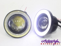cree led spotlamp with angel eye ring 64mm lighting
