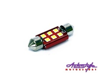 36mm 6led canbus interior bulb lighting