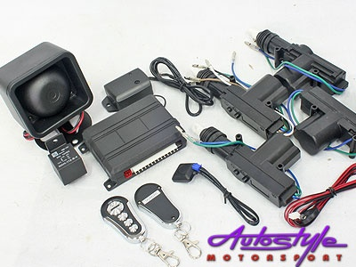 Photo of Central Locking kit with Alarm System