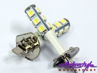 18led ice white h1 headlight bulbs lighting