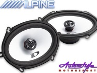 alpine sxe 572s 5x7 speakers