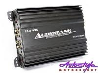 audiobank 5800w 4channel amplifier