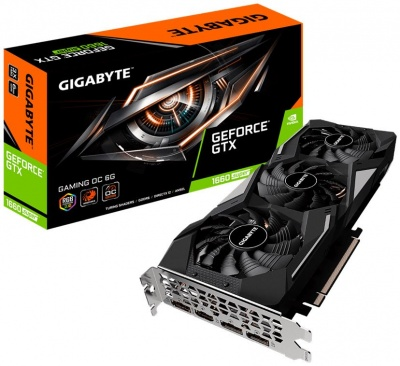 Photo of Gigabyte nVidia GeForce GTX1660 Super Gaming OC 6Gb GDDR6 192-Bit Graphics Card