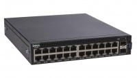 dell networking x1026 smart web managed switch with 24x e
