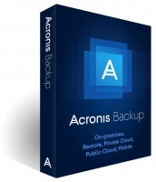 acronis backup standard virtual host subscription license finance accounting