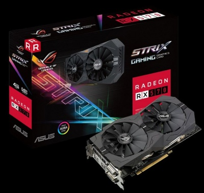 Photo of Asus ROG Strix RX570 4GB GDDR5 256bit 4 channel XDMA CrossFire Graphics Card