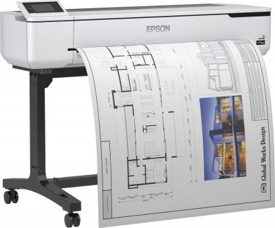Photo of Epson SureColor SC-T5100 Large Format Printers