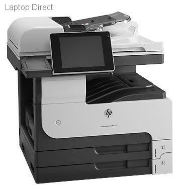 Photo of HP LaserJet Enterprise 700 M725dn Multifunction Printer.