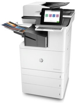 Photo of HP M776zs Enterprise Flow Office Color Laser Multifunction Printers with Fax